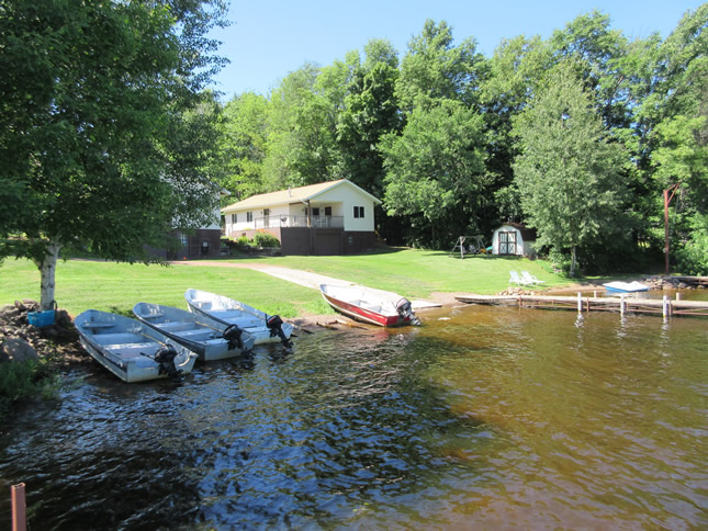 lodging fishing snowmobile lake gogebic michigan western